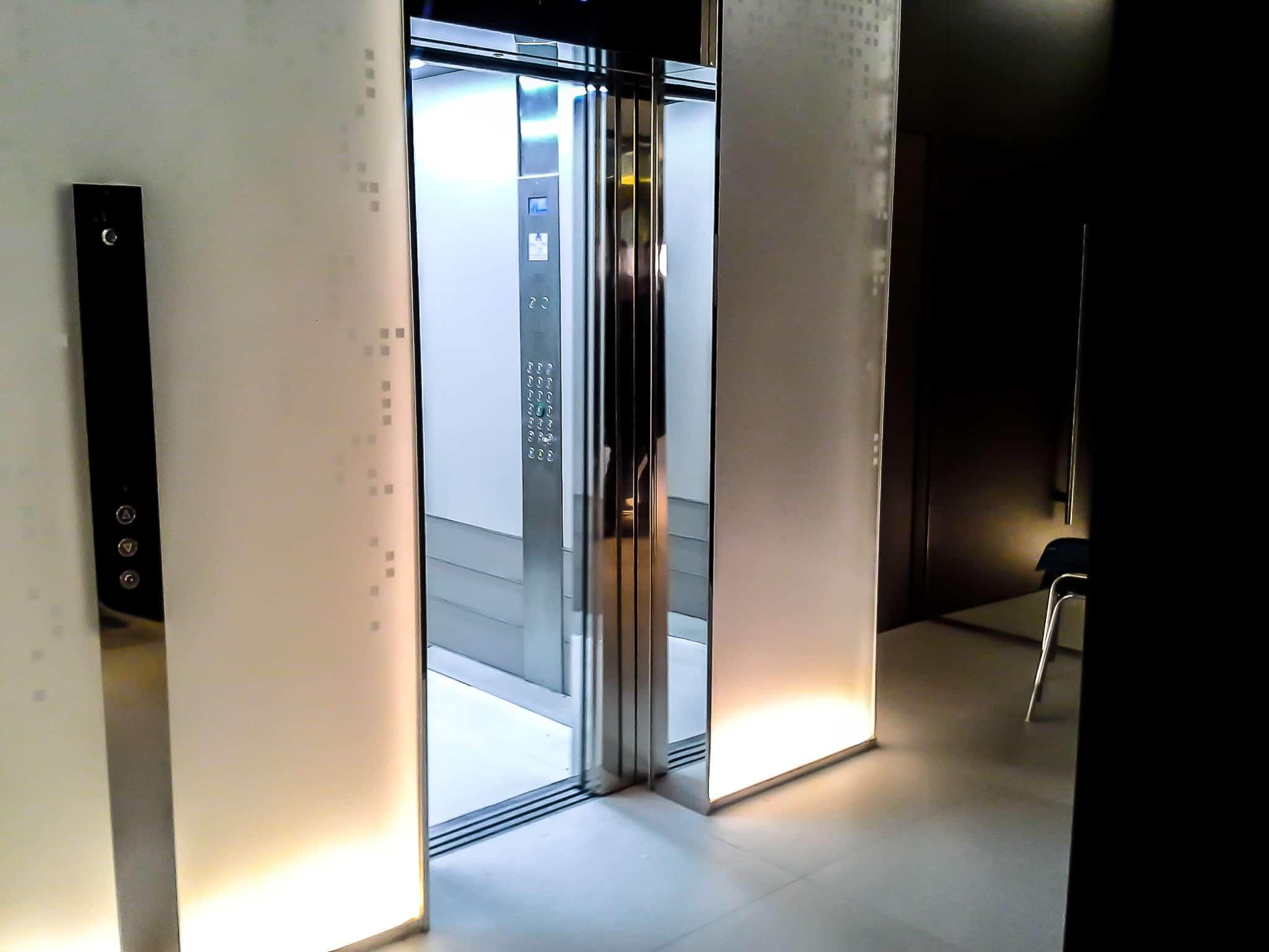 Présentation ascenseur bien intégré